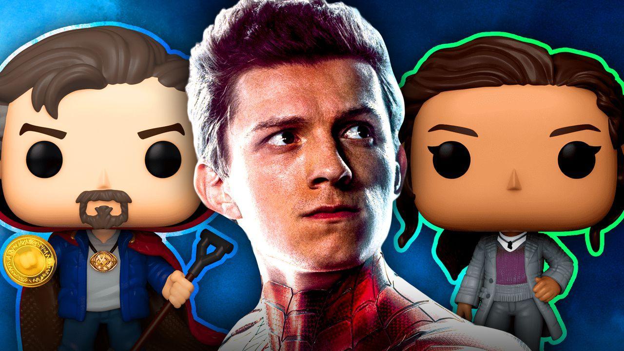 Tom Holland Spider-Man Doctor Strange Zendaya MJ Funkos