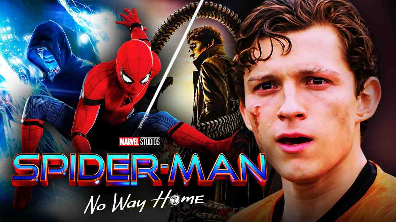 Tom Holland Spider Man Doctor Octopus Electro