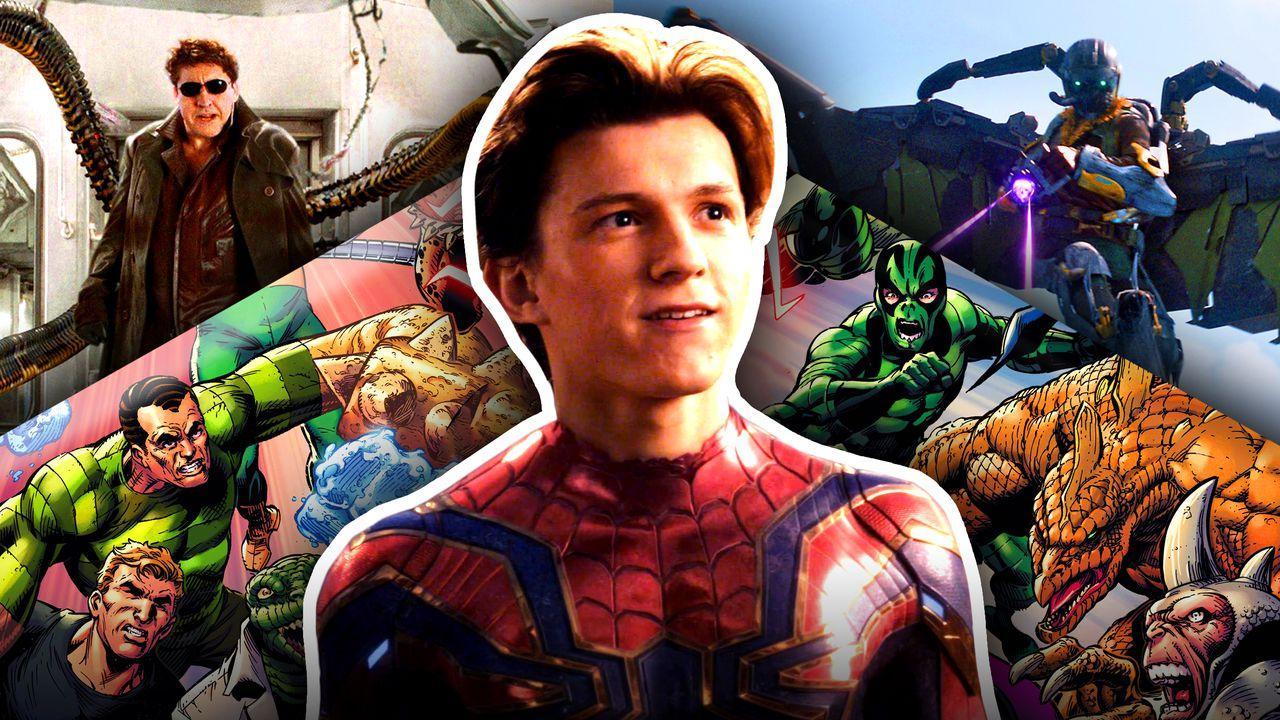 Spider-Man Tom Holland Sinister Six