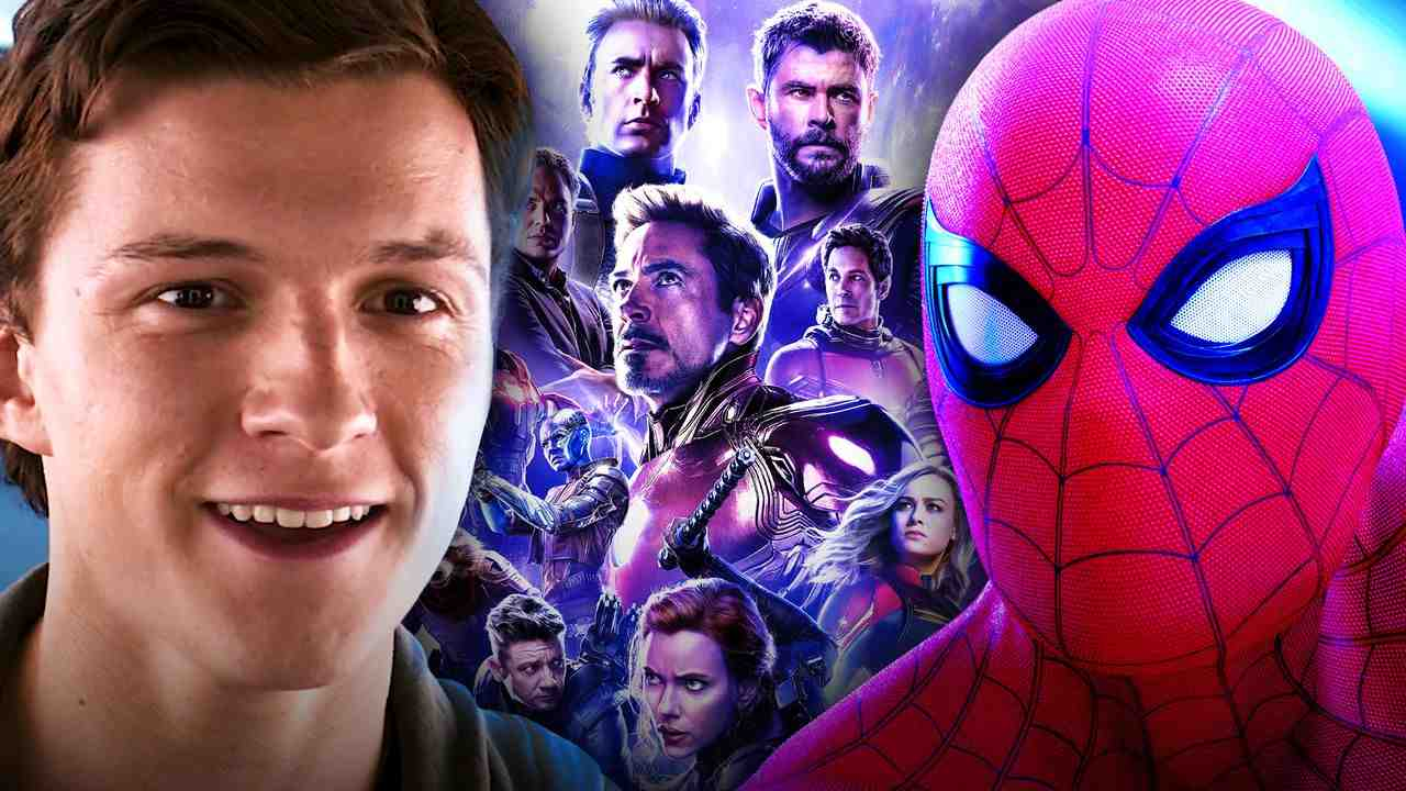 Tom Holland as Peter Parker, Spider-Man, Avengers