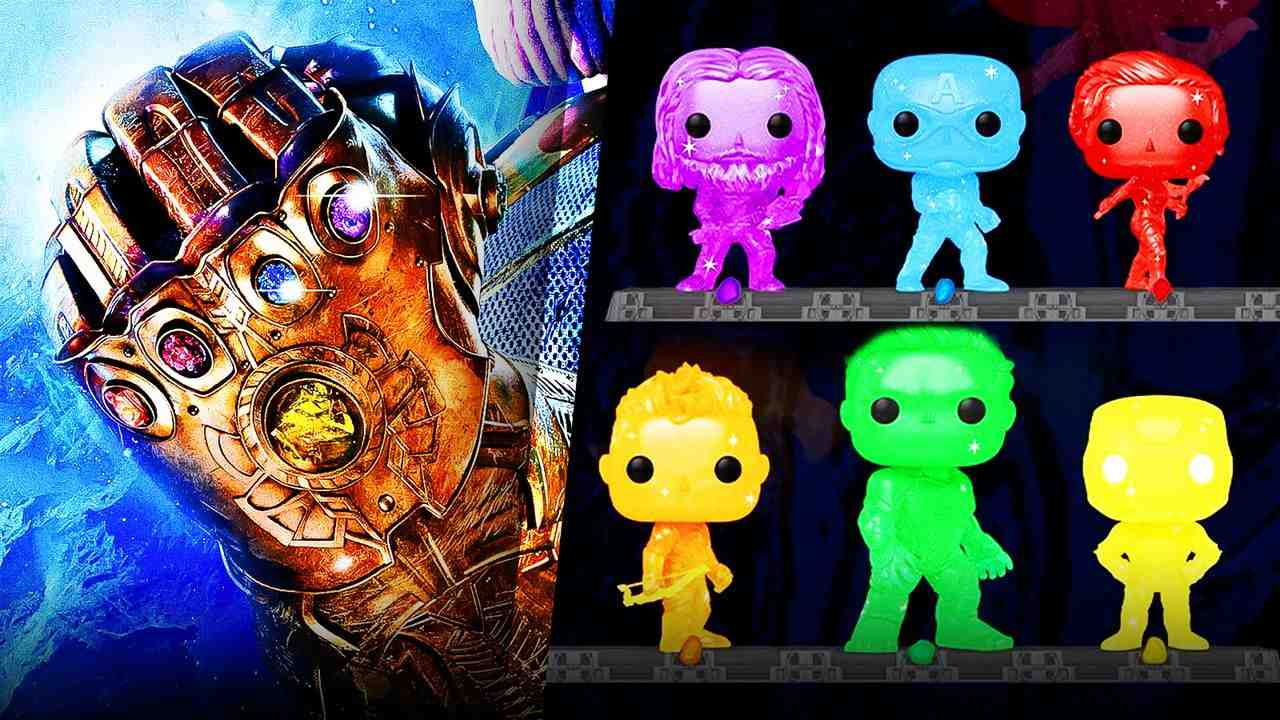 Infinity Gauntlet, Funko Pops!
