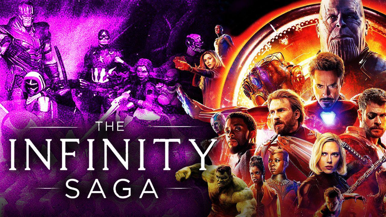 Infinity War Poster, Infinity Saga Figurine Set