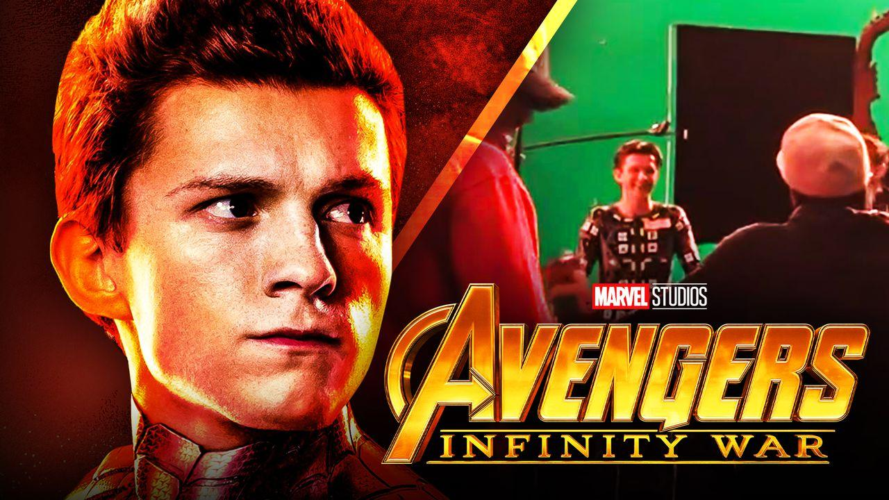 Tom Holland Avengers Infinity War