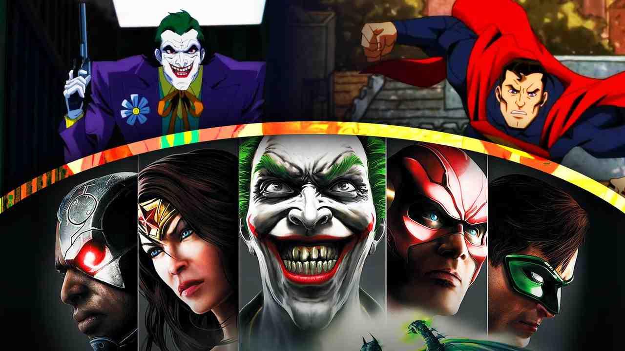 Justice League Injustice Joker Superman Movie