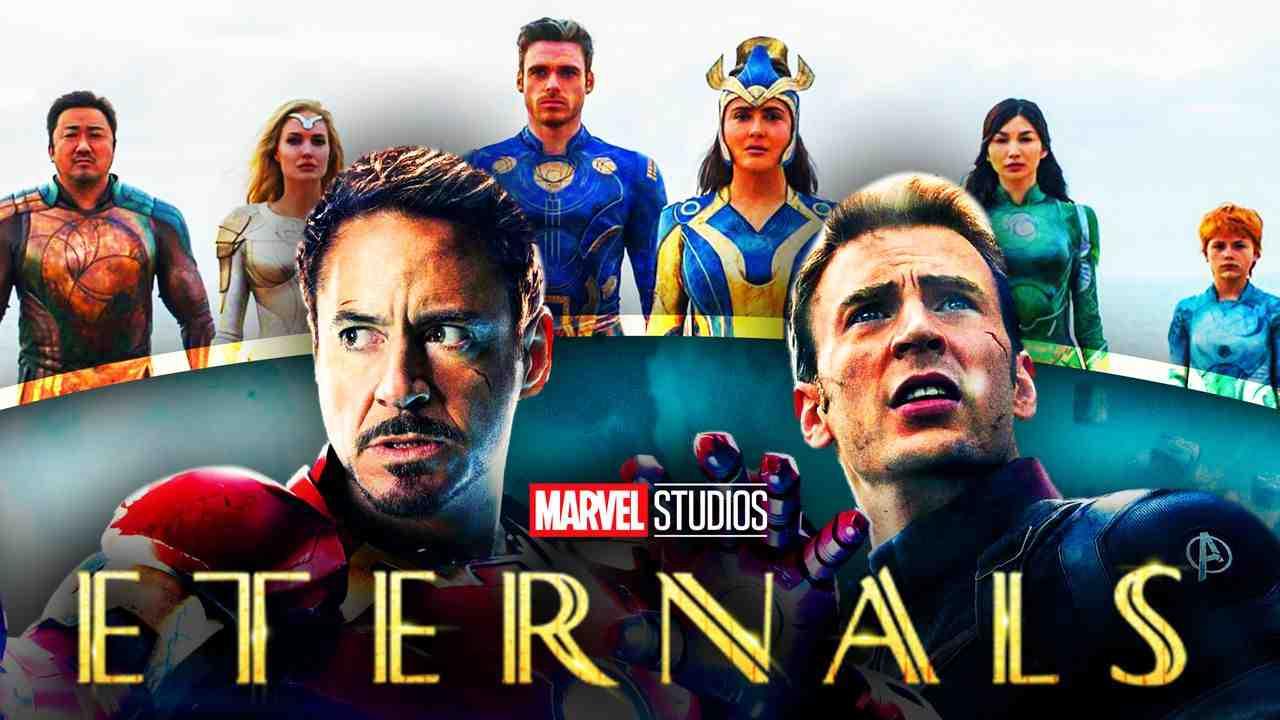 Marvel, MCU, Eternals, Captain America, Iron Man