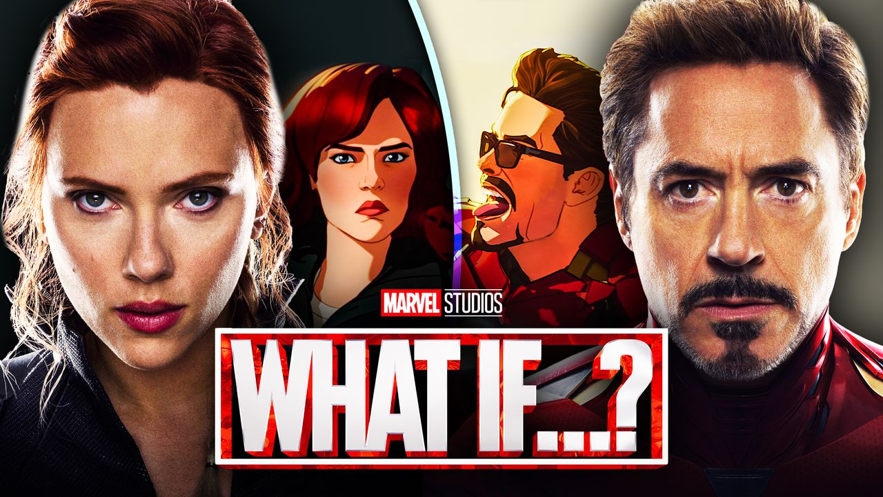 MCU, What If...?, Black Widow, Iron Man, Scarlett Johansson, Robert Downey Jr.