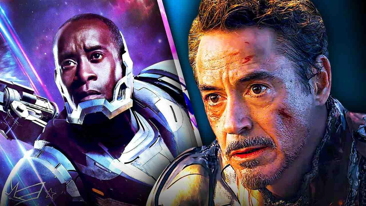 Iron Man Robert Downey Jr War Machine