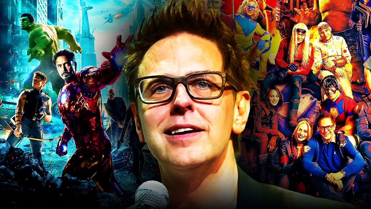 James Gunn Avengers Suicide Squad