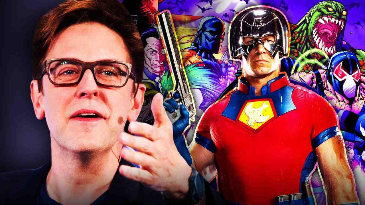 James Gunn Peacemaker Batman villains
