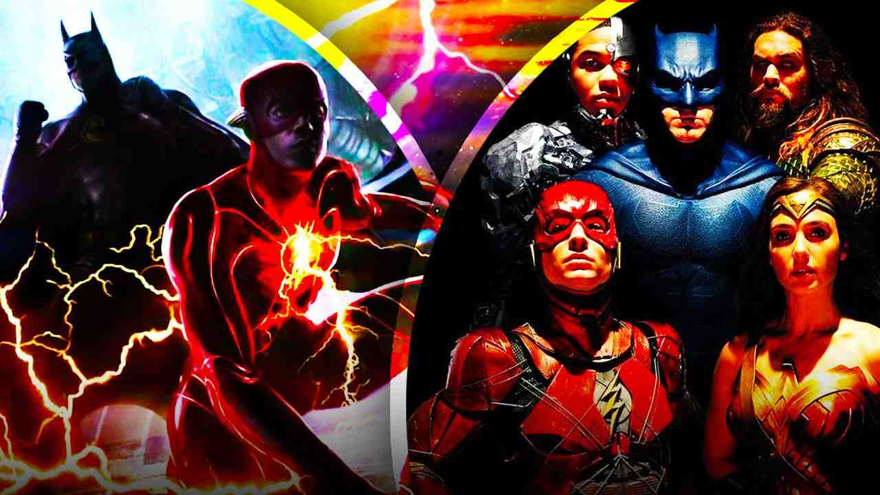 Justice League and the Flash Concept Art