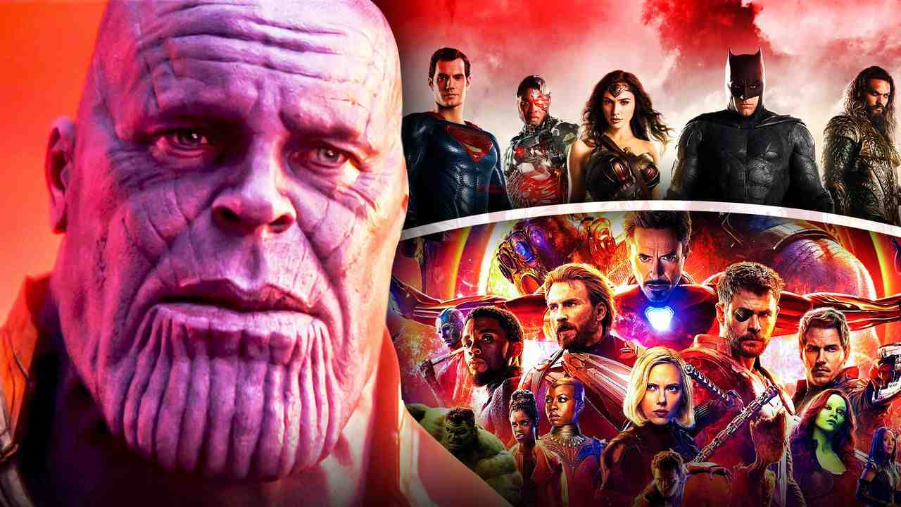 Thanos Avengers Justice League