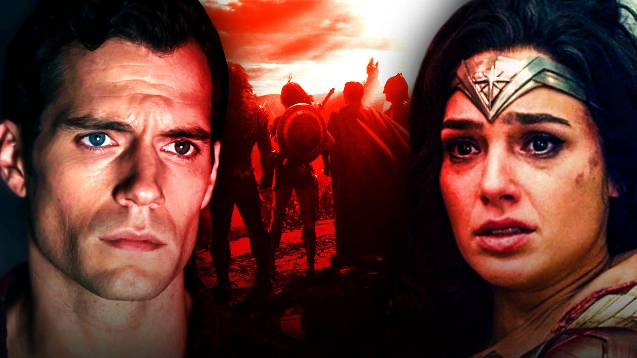 Superman, Justice League, Wonder Woman