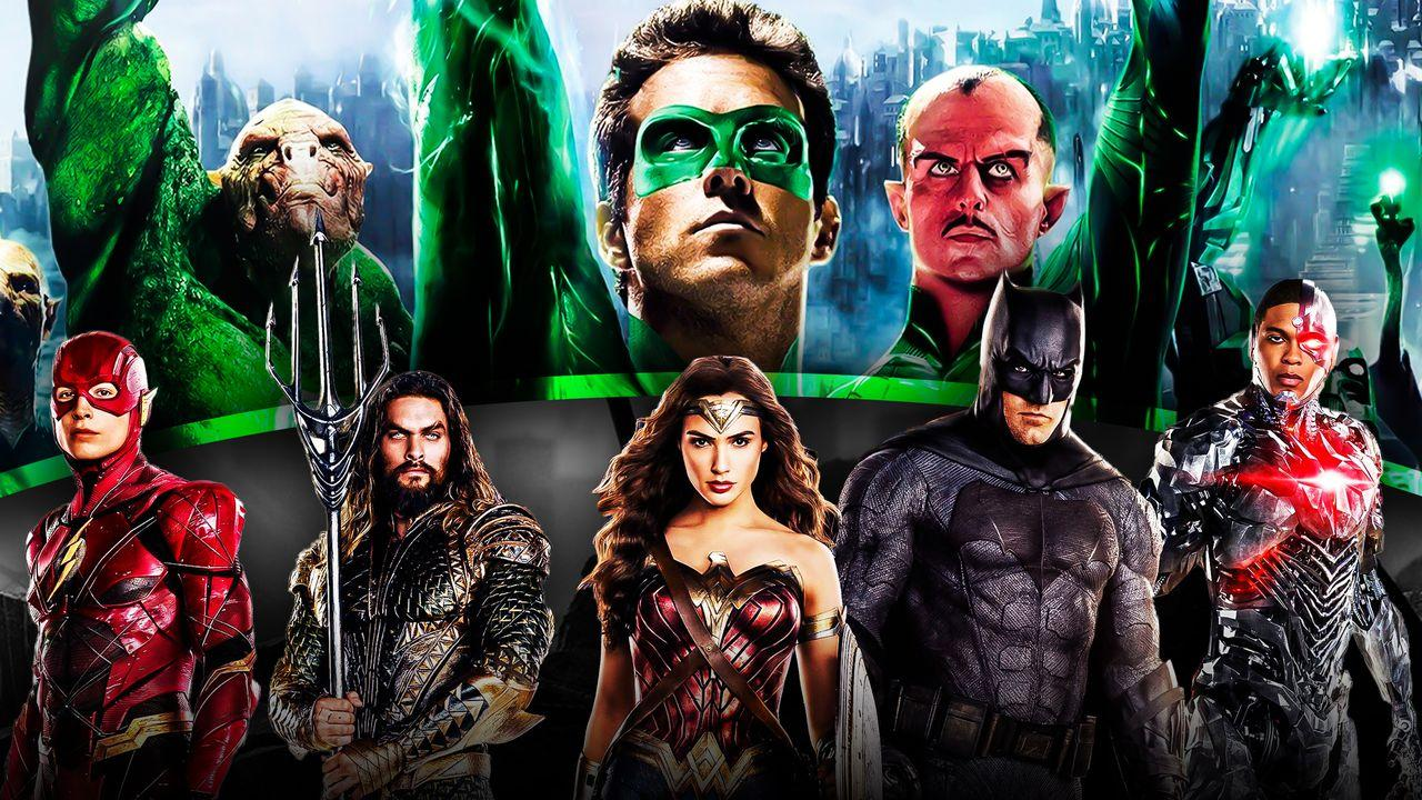 Ryan Reynolds' Green Lantern, Justice League