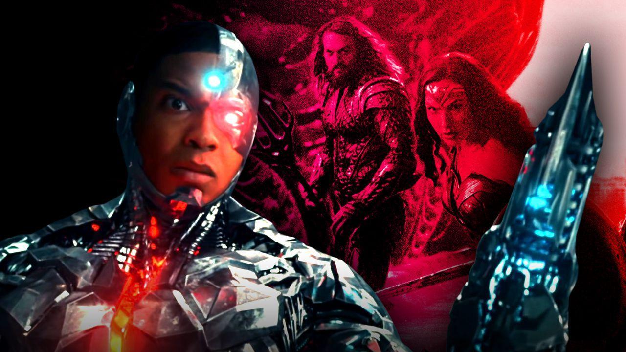 Cyborg, Wonder Woman, Justice League