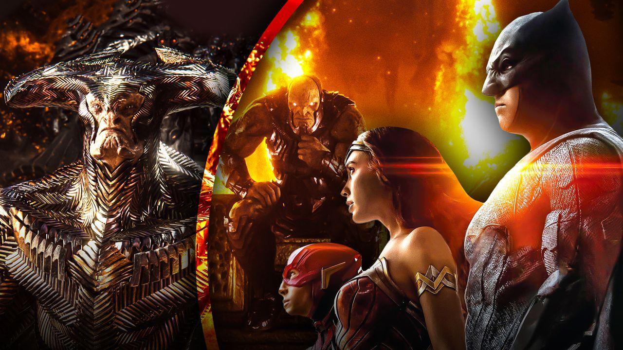 Darkseid, Steppenwolf, Justice League