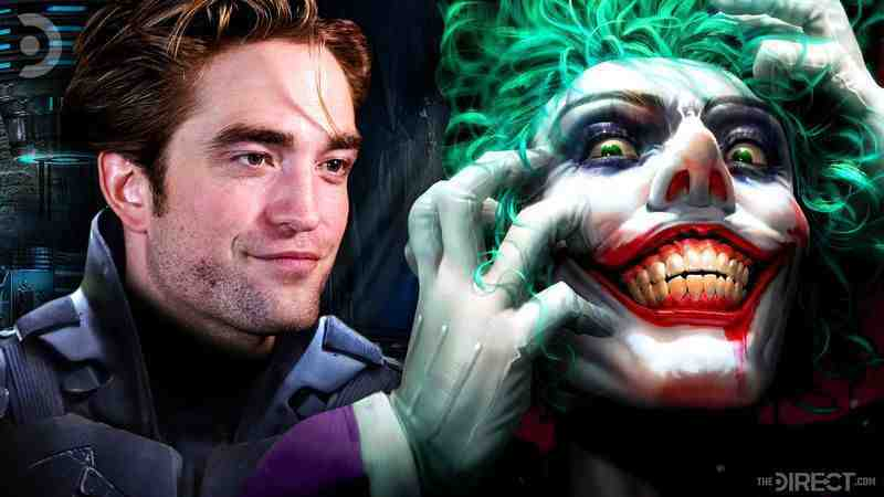 Robert Pattinson's Batman and The Joker