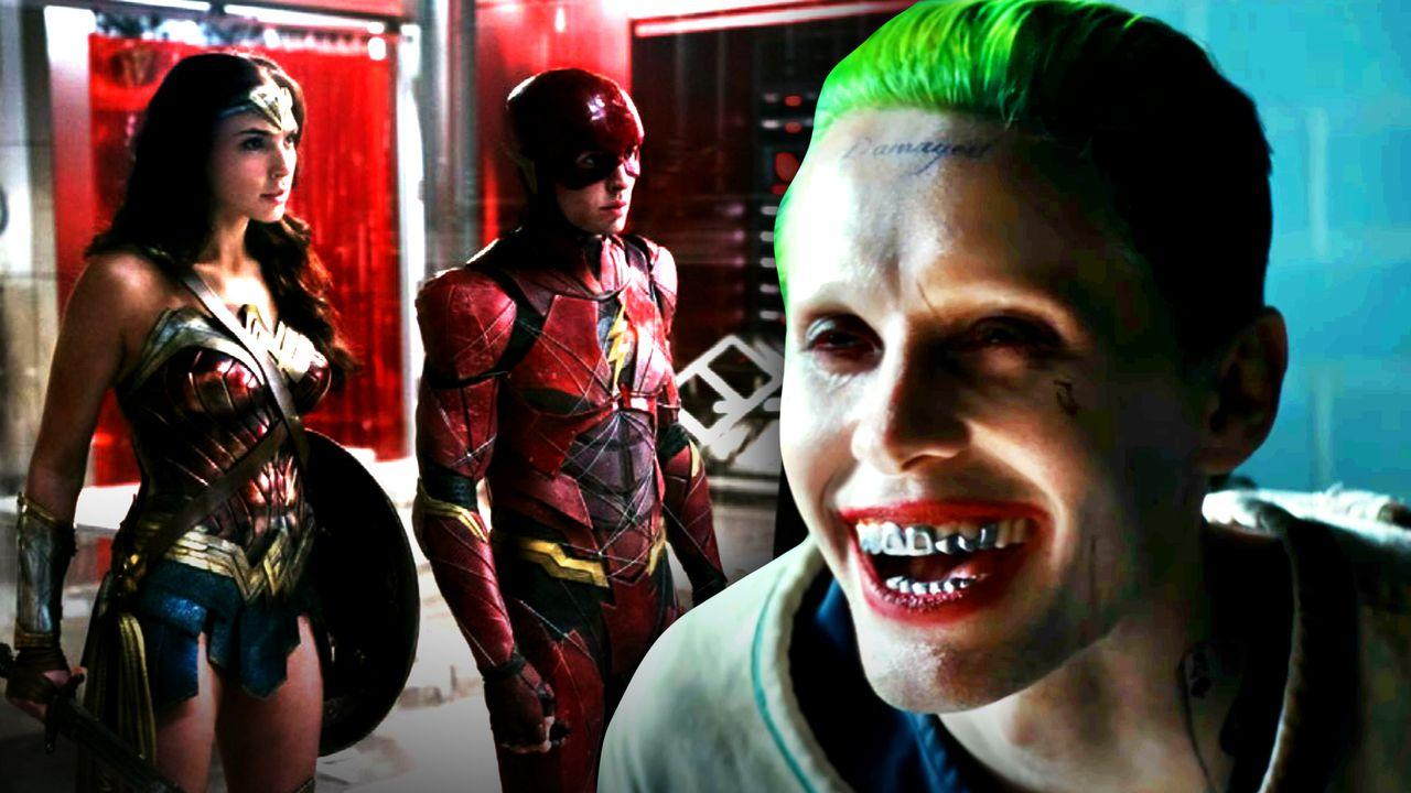 Joker, Wonder Woman, Flash