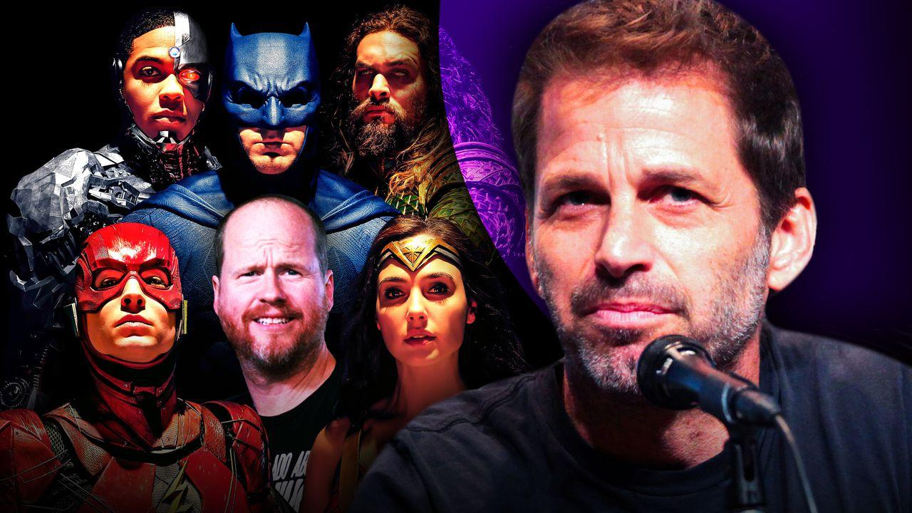 Joss Whedon and Zack Snyder Justice League