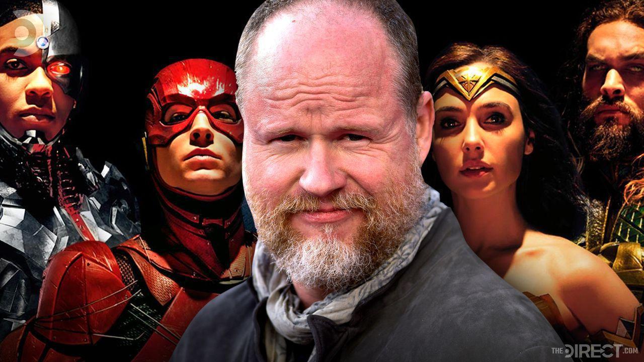 Justice League promo shot, director Joss Whedon