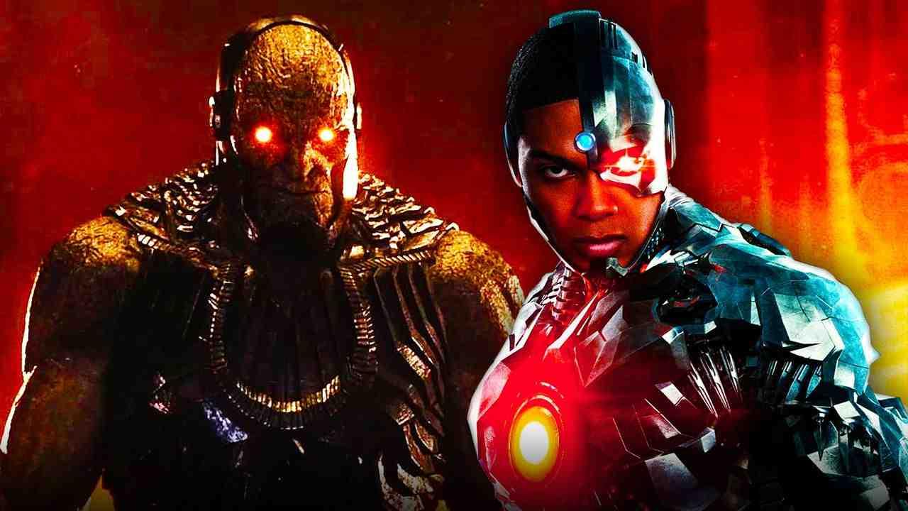 Cyborg and Darkseid