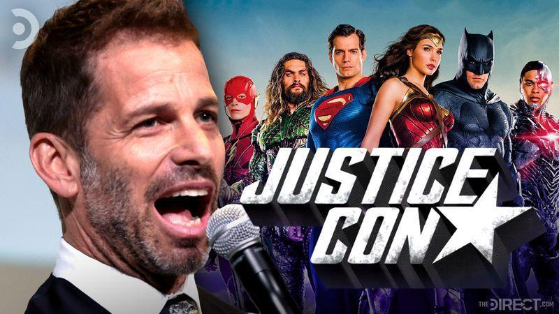 Zack Snyder and the Justice League Team