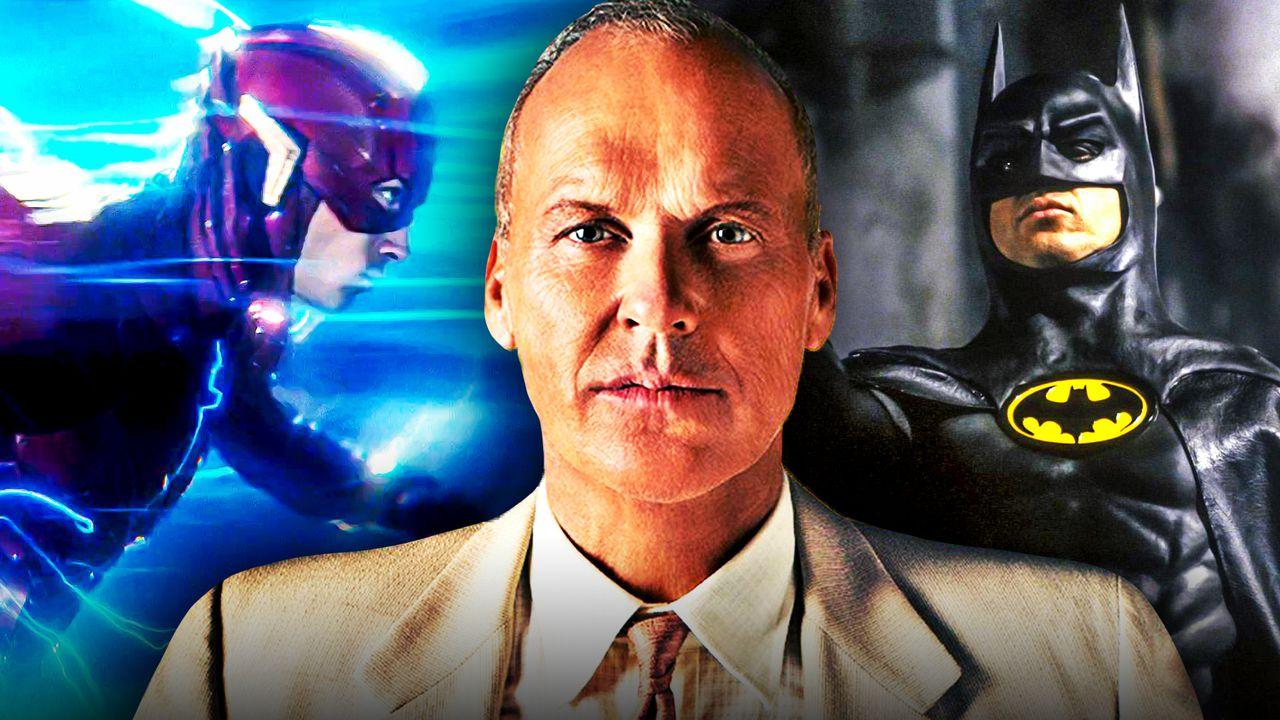 Michael Keaton Flash Batman