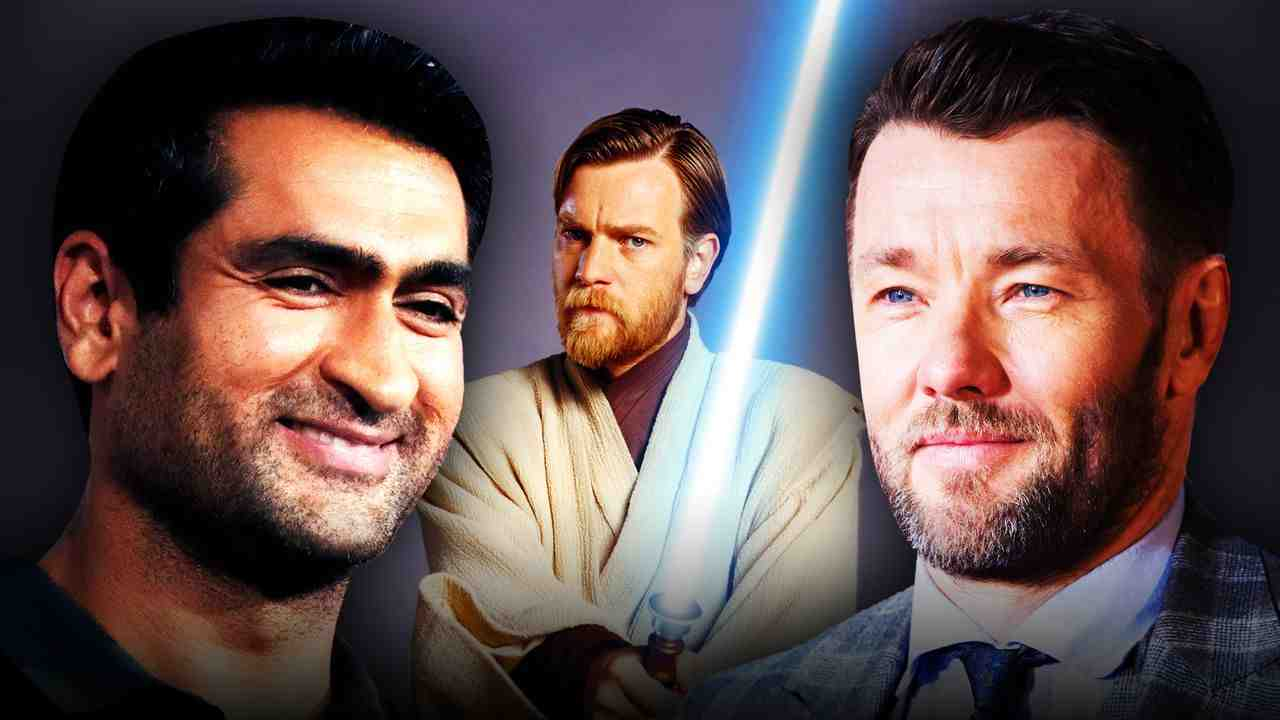 Ewan McGregor as Obi-Wan Kenobi, Kumail Nanjiani, Joel Edgerton