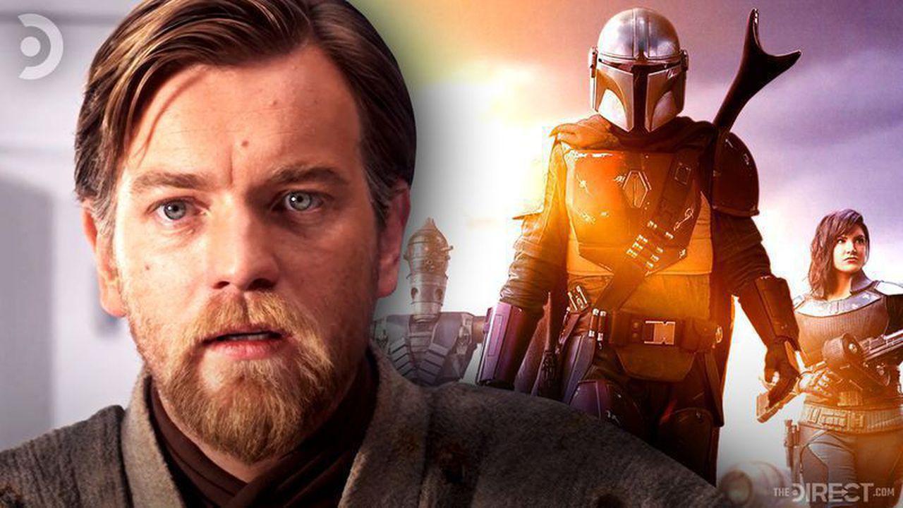 Obi Wan Kenobi and The Mandalorian poster