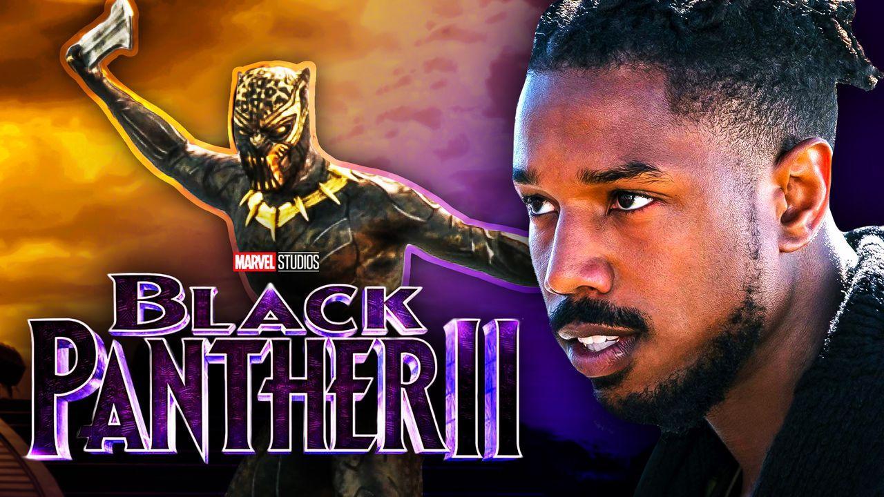 Killmonger, Michael B. Jordan Black Panther