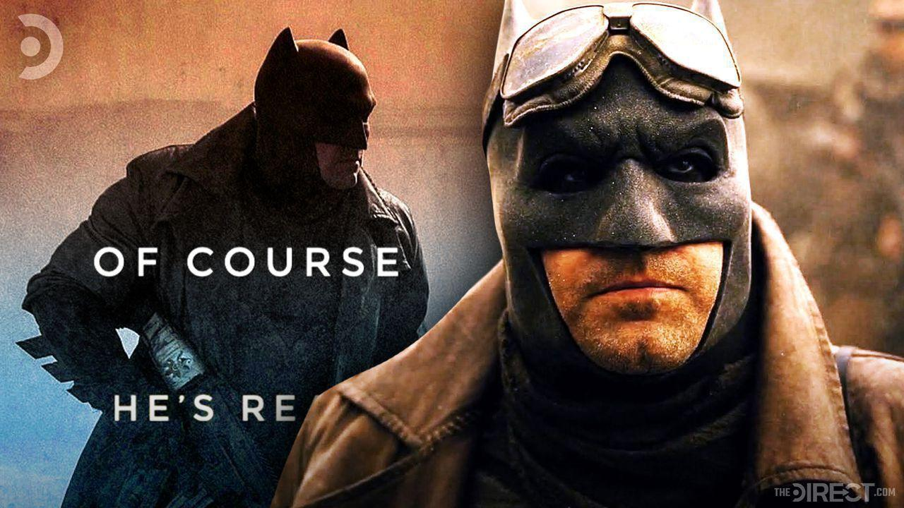 Knightmare Batman from Batman V Superman with a quote