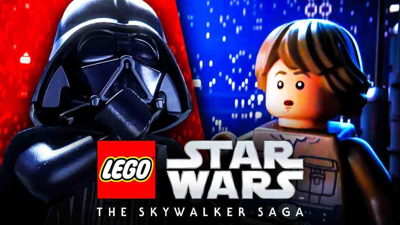Star Wars, Lego, Skywalker Darth Vader Luke Skywalker