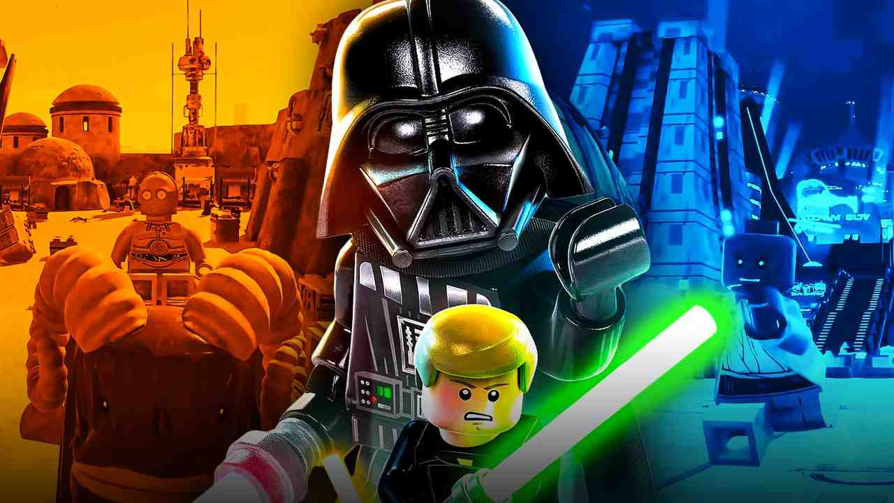 LEGO Star Wars: The Sky Walker Saga Character and Location Count Revealed