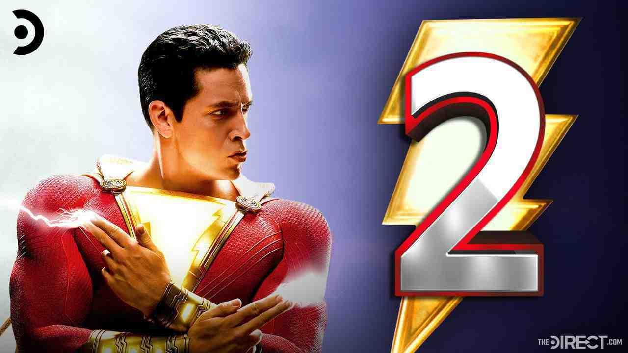 Shazam 2 Zachery Levi