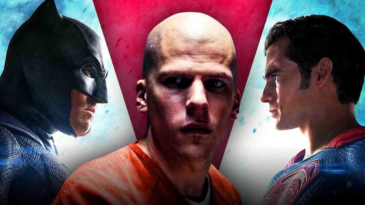 Jesse Eisenberg as Lex Luthor in Batman v Superman