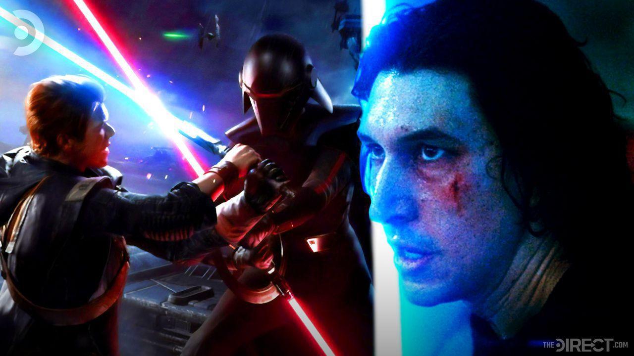 Second Sister in Jedi Fallen Order, Adam Driver as Ben Solo in The Rise of Skywalker