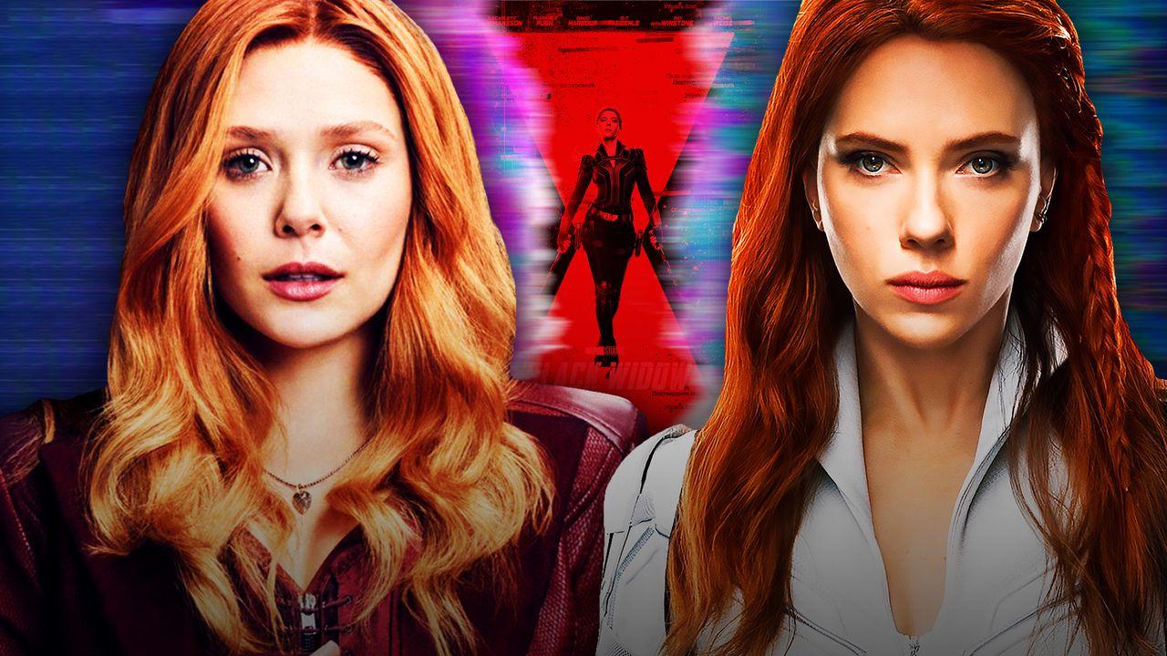 Scarlett Witch and Black Widow