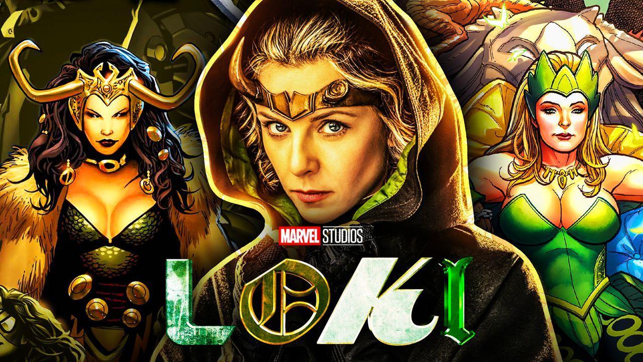 Lady Loki Sylvie Enchantress