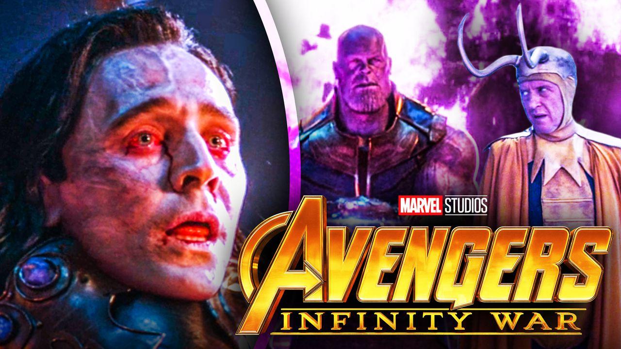Loki Richard E Grant Avengers Infinity War