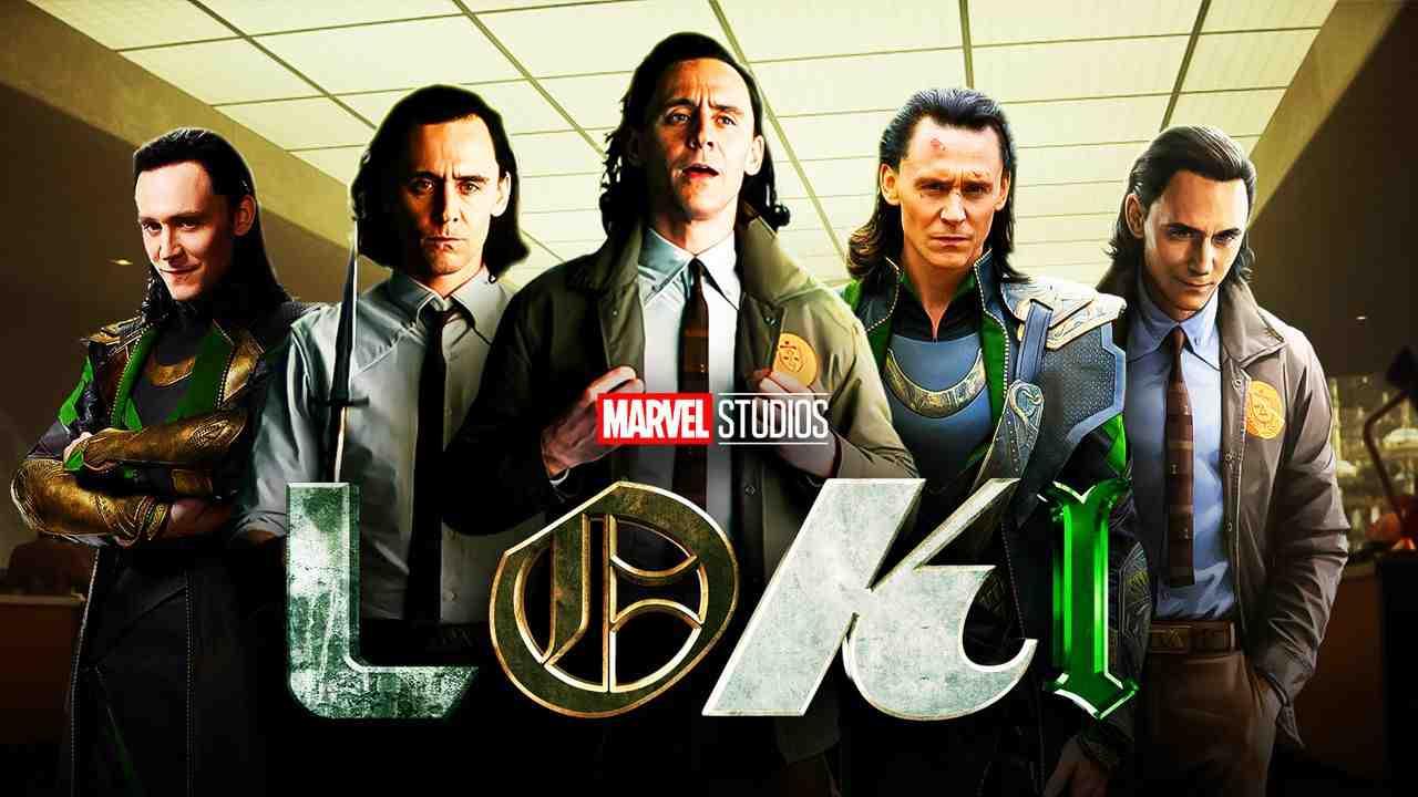 Loki logo, Tom Hiddleston as Loki
