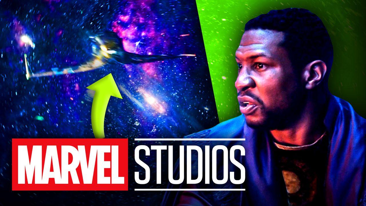 Kang He Who Remains Loki, Spaceship Marvel Studios logo