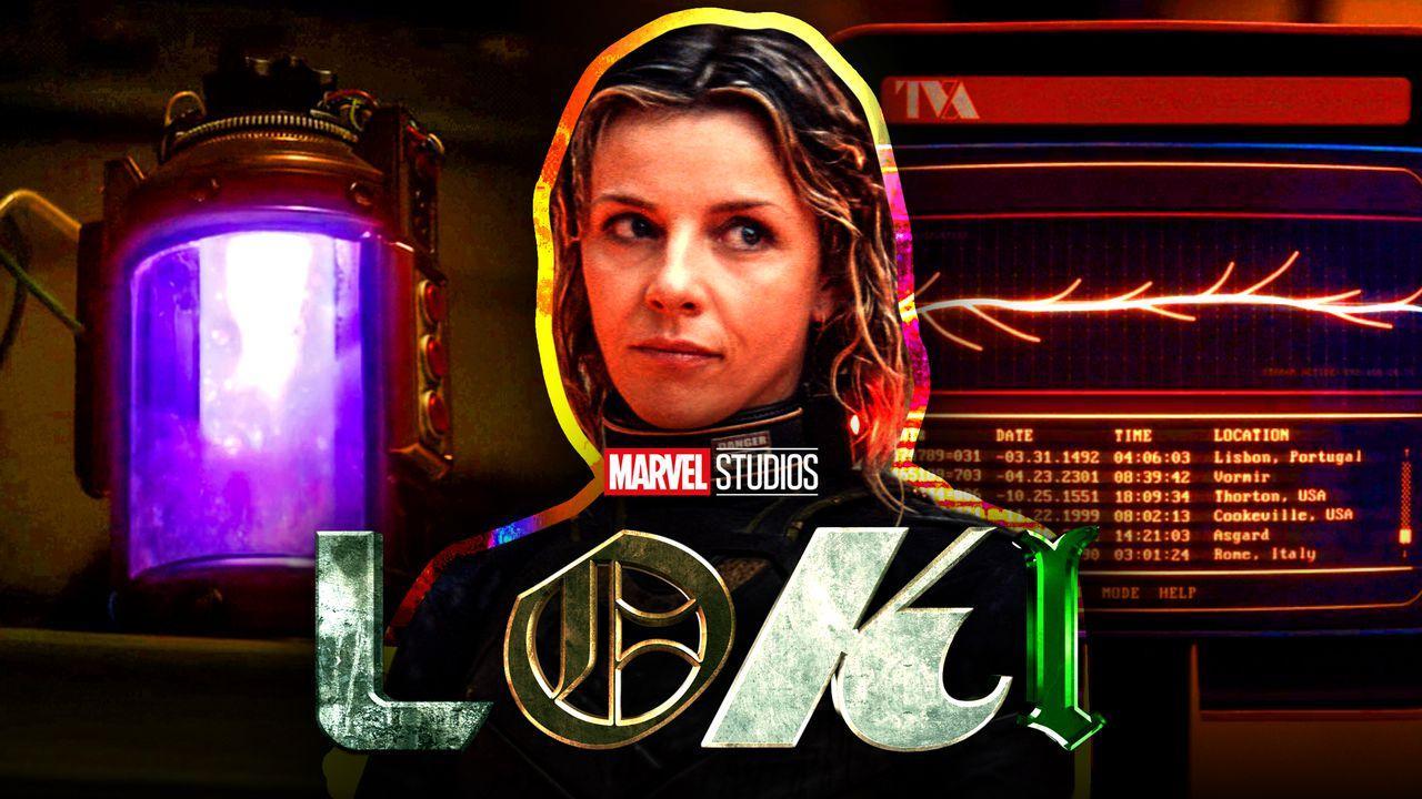 Time bomb, Sophia Di Martino Sylvie, Loki logo.