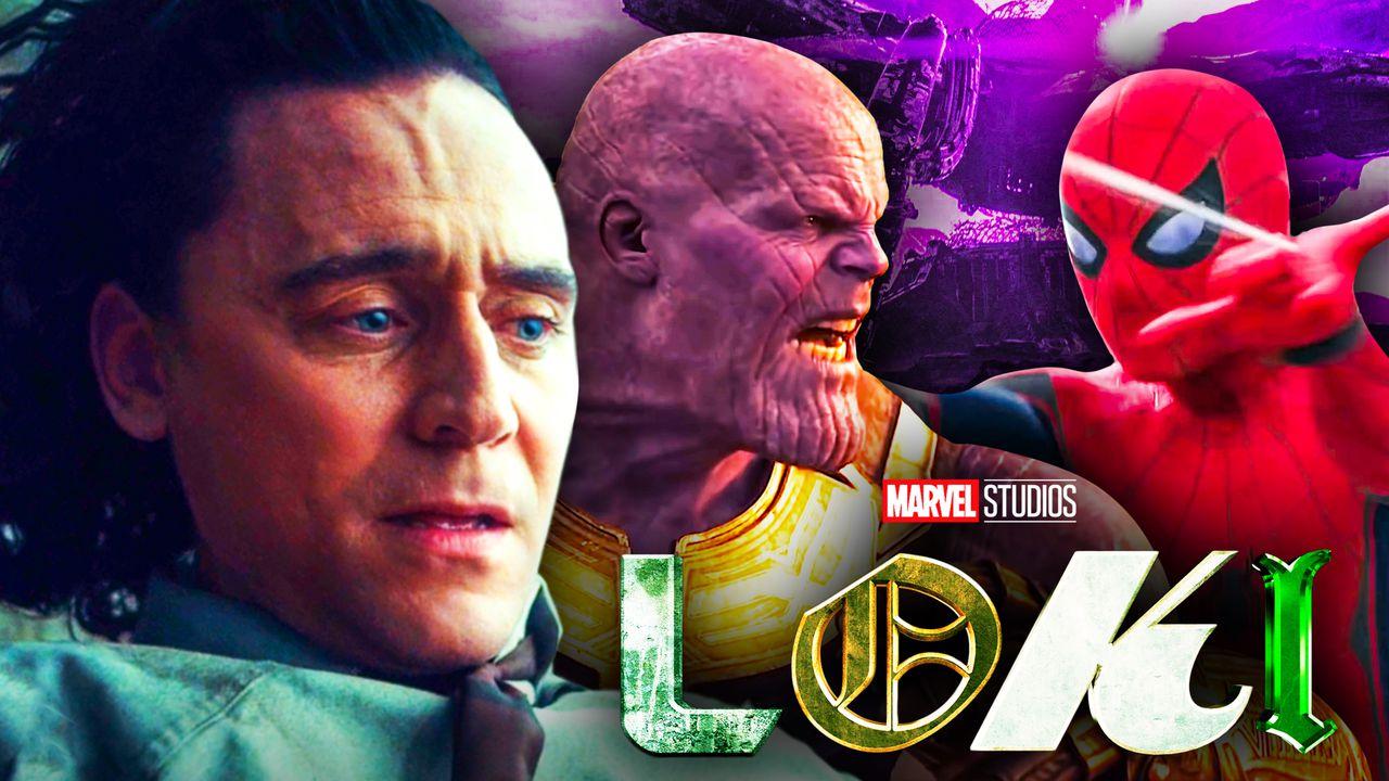 Loki Thanos Spider-Man