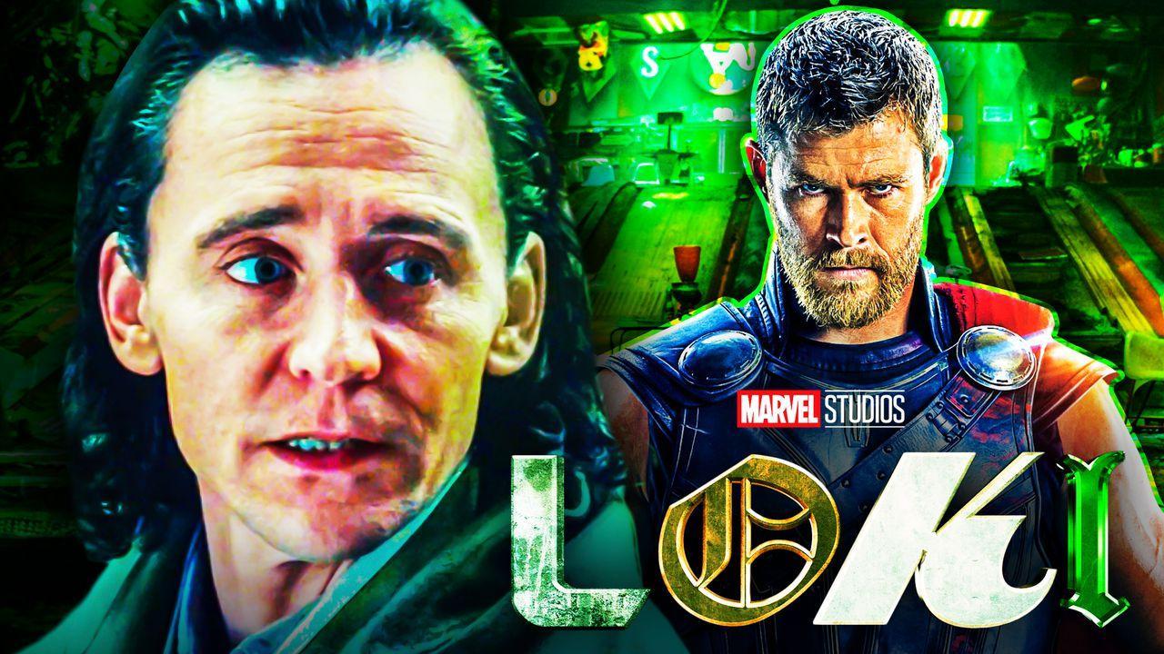 Loki Thor Tom Hiddleston Chris Hemsworth