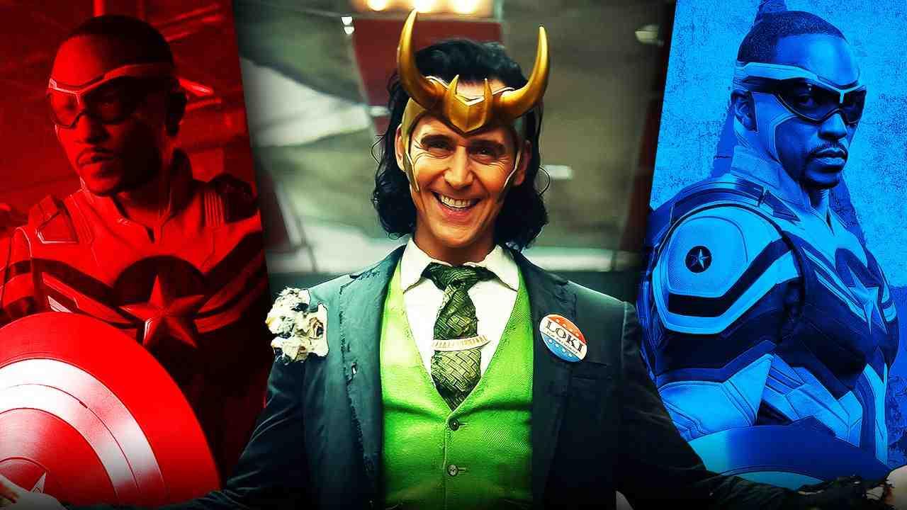 Loki Sam Wilson Captain America