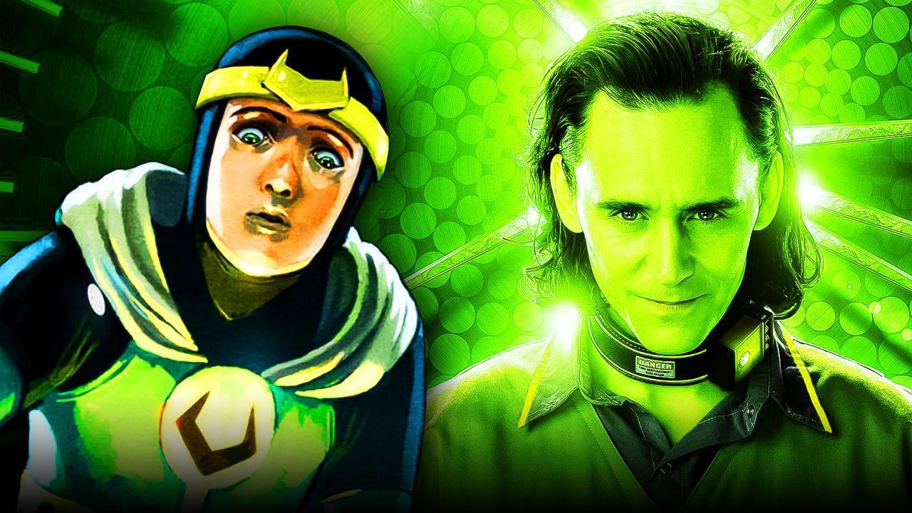 Kid Loki, Loki Disney+ poster