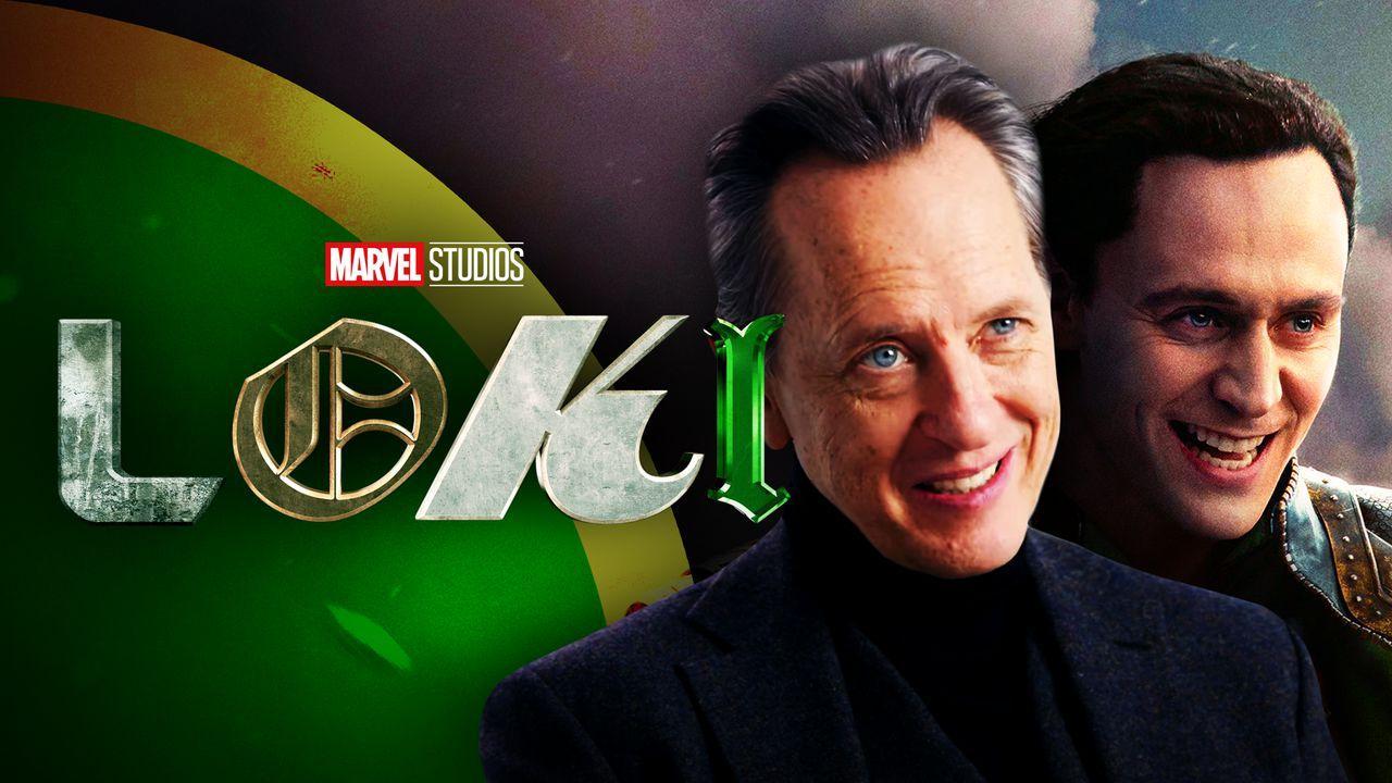 Richard E Grant, Loki, Loki logo
