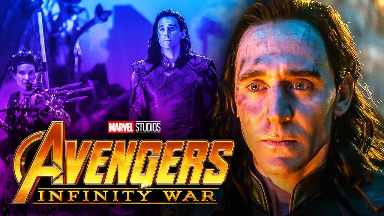 Avengers Infinity War Loki Scene