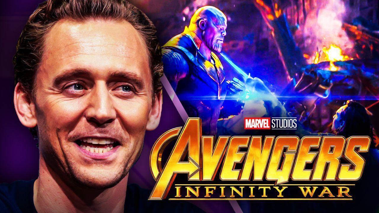 Avengers Infinity War Tom Hiddleston Loki Thanos
