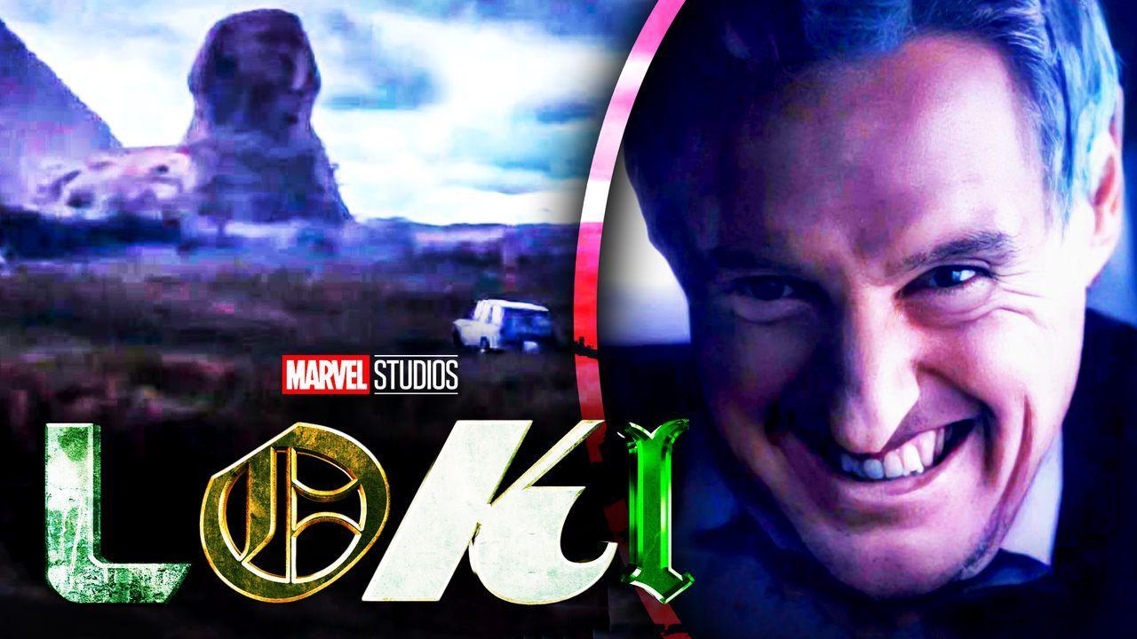 Loki Mobius Owen Wilson Egypt