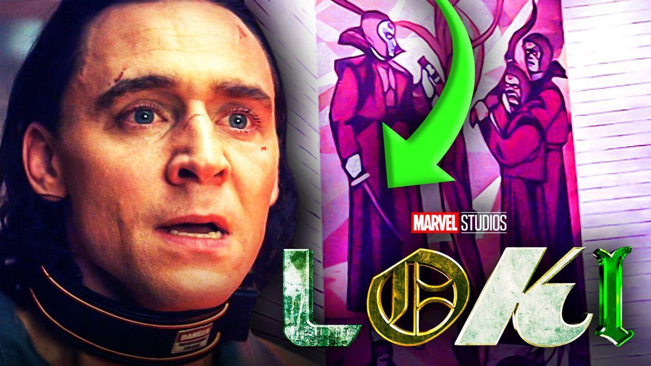Loki Timekeepers Tree Mural